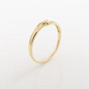 Zásnubní prsten s přírodním diamantem Pearl