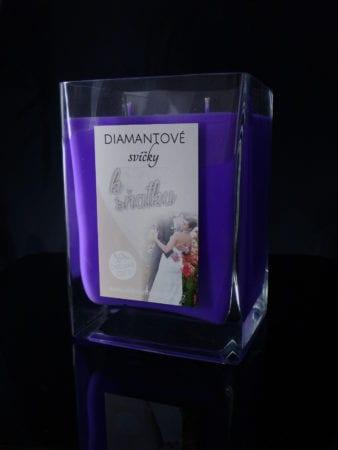 purple svatba